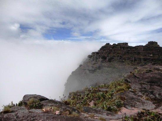 Parque Nacional do Monte Roraima: Final da trilha de subida