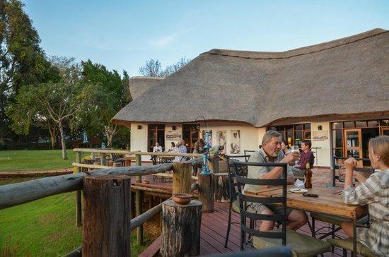 Ngorongoro Farm House, Tanganyika Wilderness Camps: outdoor communal sitting area