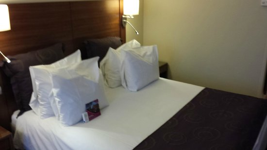 Crowne Plaza Amsterdam City Centre : Bed