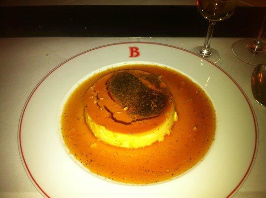 Benoit New York : Crème caramel