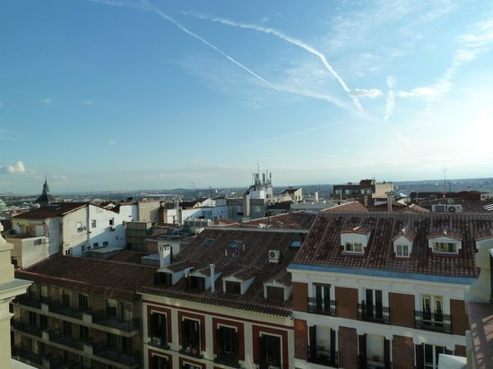 Catalonia Atocha: вид с веранды