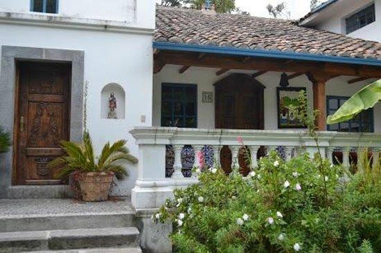 Hacienda Cusin : built in 1602