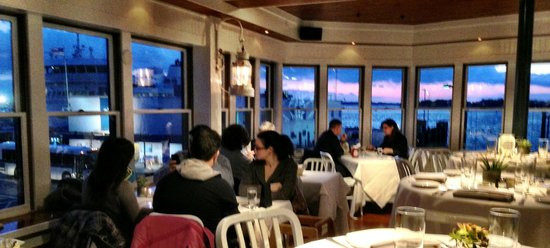 New Dining Area Upstairs With View Of The Ferry Has Been Thoroughly