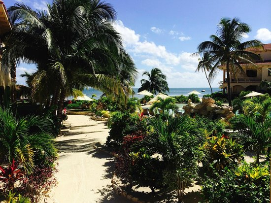 Coco Beach Resort : View from our front porch