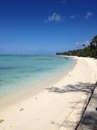 Rarotonga Daydreamer Resort : Beach in rarotonga