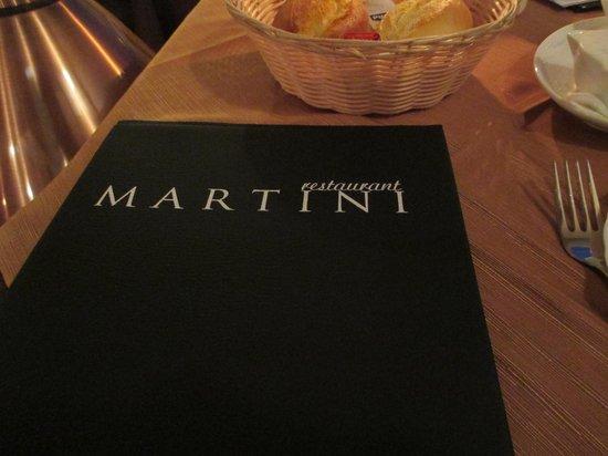 Martini Restaurant : Restaurang Martini