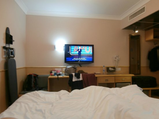 Premier by Eurotraveller: TV on the wall
