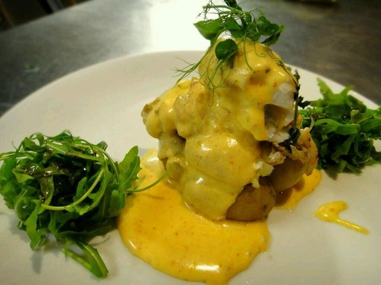 McGettigans Cookhouse & Bar: Poached Haddock