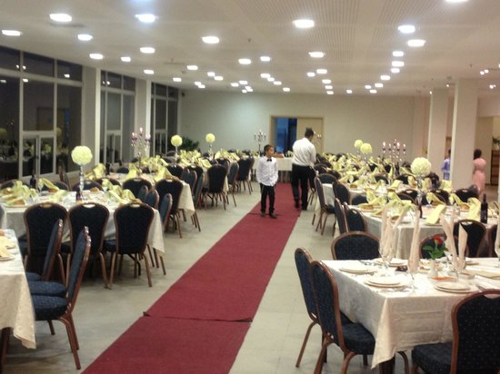 Margoa Arad Hotel: Dining room