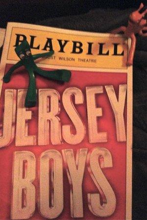 Jersey Boys: Gumby and Pokey w/ Playbill