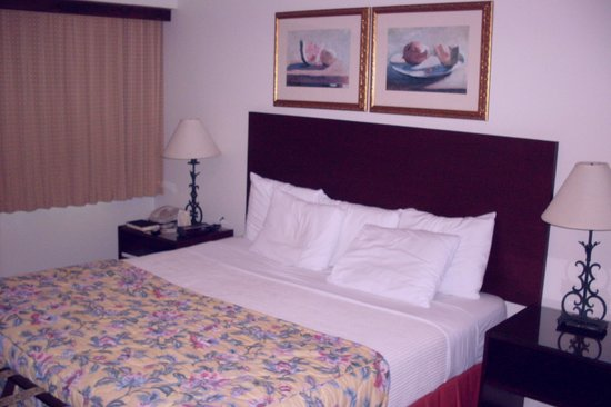 Hotel Miramar: King size bed