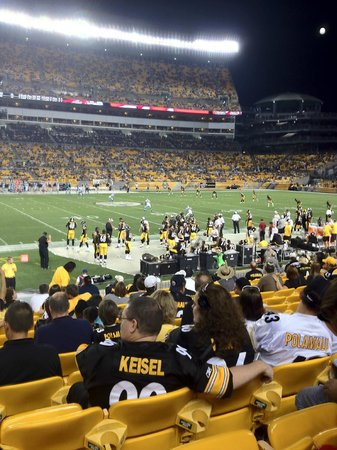 Go Steelers at Heinz Field