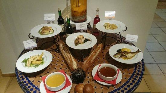 Club Med Djerba la Douce : Quelques plats