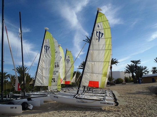 Club Med Djerba la Douce : Catas marrants !!!