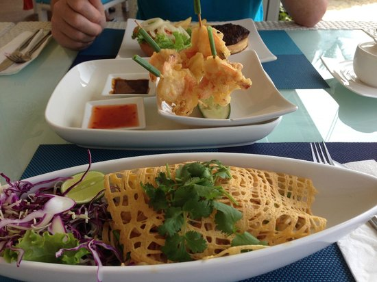 Beyond Resort Karon: Excellent food