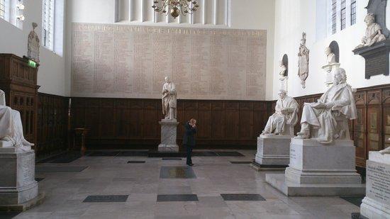 Trinity College: Trinity Interior