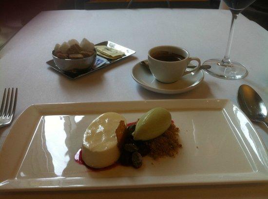 Boulud Sud : Dessert and espresso