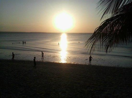 Sunset Beach Resort Zanzibar: Tramonto dal resort