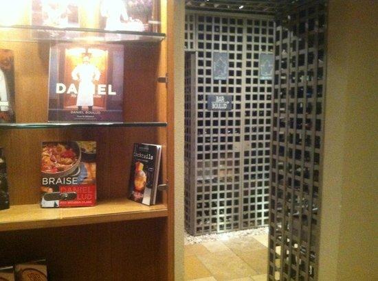 Boulud Sud : Wine cellar downstairs