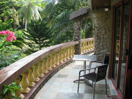 Le Triskell : balcone sul giardino