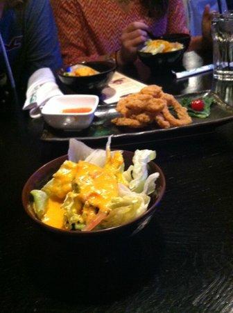 Nagoya Asian Bistro: house salad