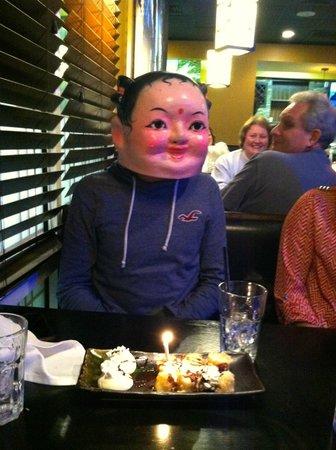 Nagoya Asian Bistro: birthday celebration