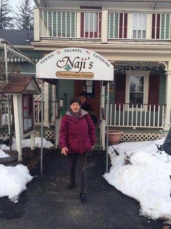 Naji's: Will be back