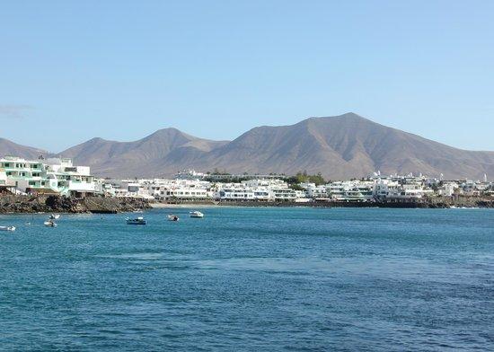 Princesa Yaiza Suite Hotel Resort: centre of Playa Blanca