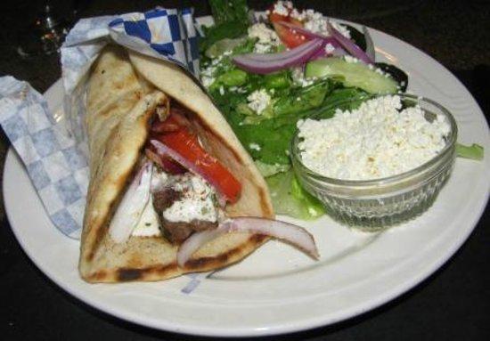 The Olive Tree Greek Mediterranean Grill: Lamb Souvlaki