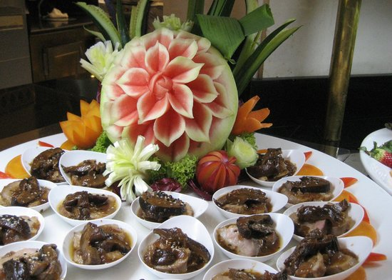 Princesa Yaiza Suite Hotel Resort: Part of buffet