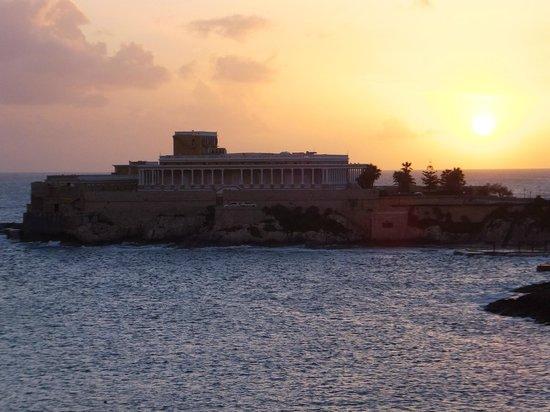 Marina Hotel Corinthia Beach Resort: Morning view.