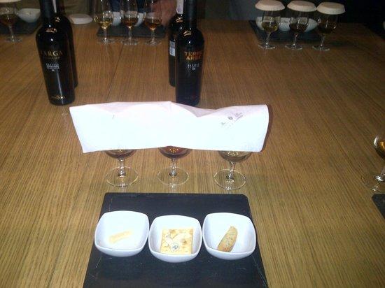 Florio: testing in wineyard