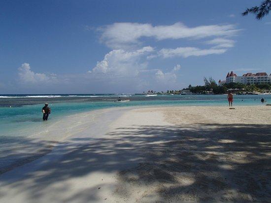 Grand Bahia Principe Jamaica: Le plus belles endroit de la plage