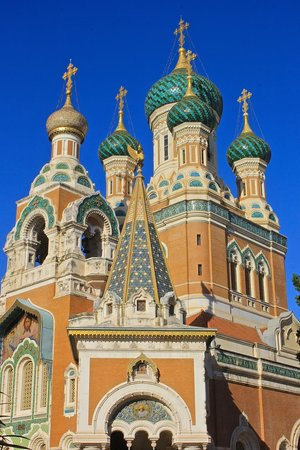 Cathédrale Orthodoxe Russe Saint-Nicolas de Nice : ПРАВОСЛАВНЫЙ ХРАМ В НИЦЦЕ