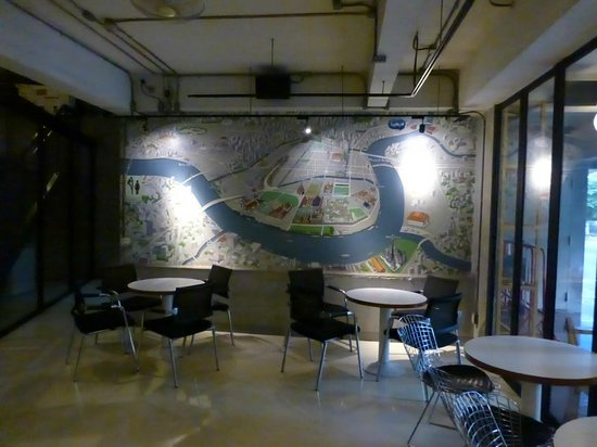 Lub d Bangkok Silom : Bar area