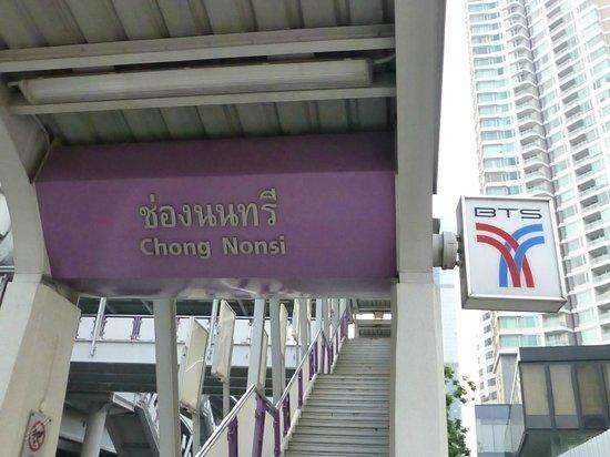 Lub d Bangkok Silom : BTS station