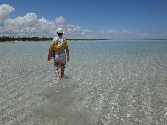 Xareu Beach: Água super transparente!
