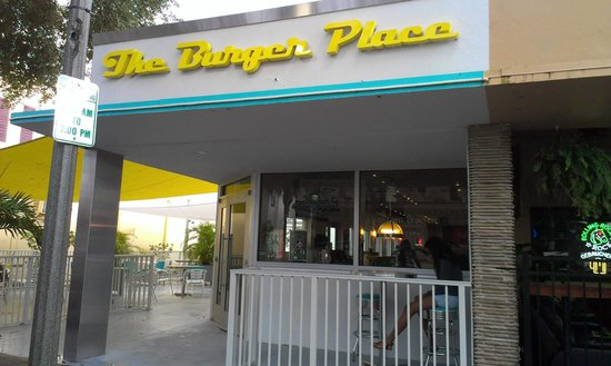 The Burger Place: Storefront