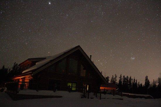 Northern Lights Resort & Spa: The resort and an incredible night sky.