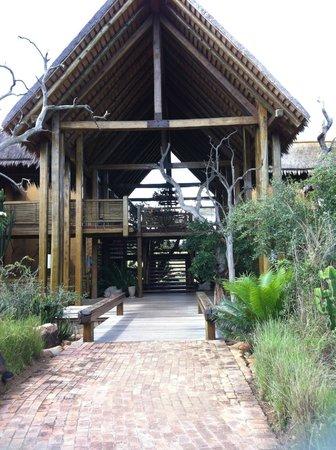 Kapama River Lodge : Entrada das SPA Suites.