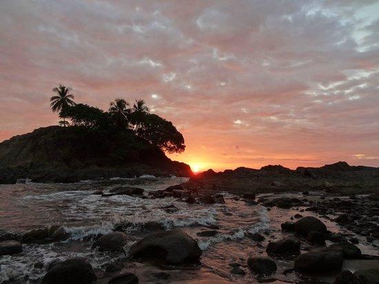 Costa Paraiso: sunset