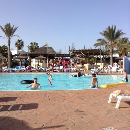 Aparthotel Paradise Island: swimming pool in february 2014