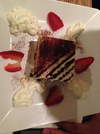 Osteria del Centro: Dessert 4 (tilamisu)