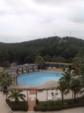 Hotel Philippion: Piscina in ristrutturazione