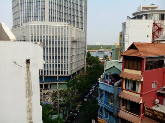 Saigon River Boutique Hotel : View from the Deck