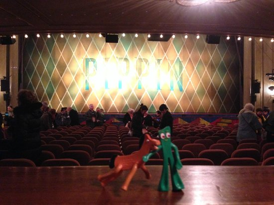 Pippin The Musical: Gumby and Pokey at the show