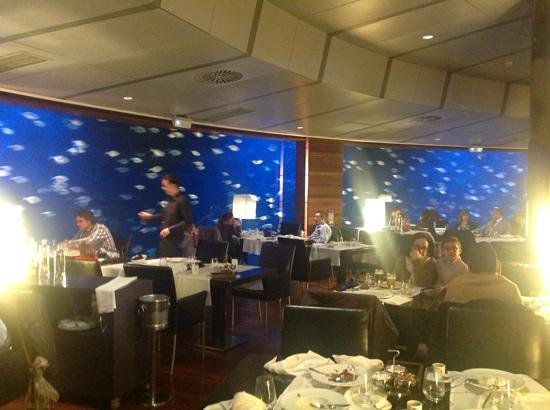 Oceanografic: ristorante sottomarino