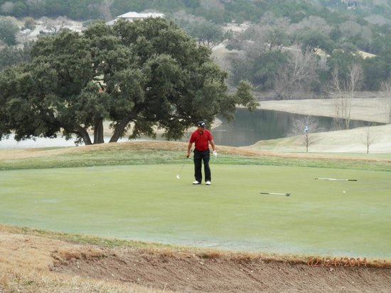Tapatio Springs Hill Country Resort : Golf course