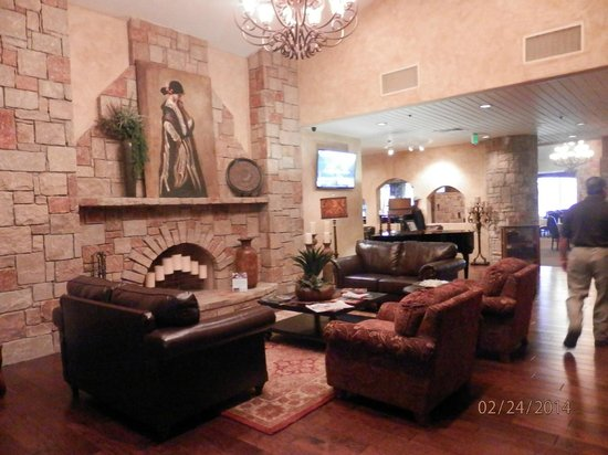Tapatio Springs Hill Country Resort : Lobby