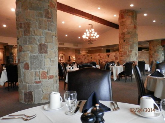 Tapatio Springs Hill Country Resort: Dining area